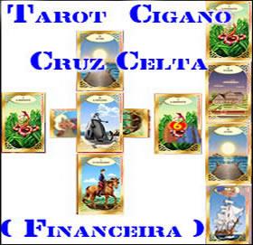 tarot cigano cruz celta financeira