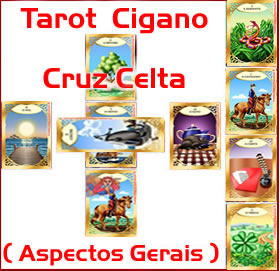 tarot cigano cruz celta