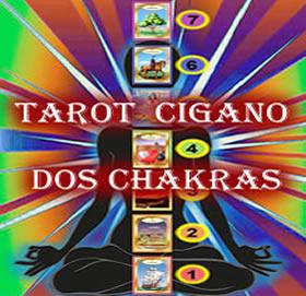 tarot cigano jogo dos chakras